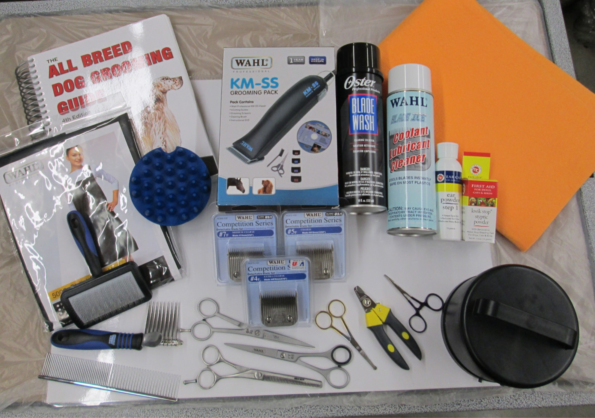 Starter Package For Dog Grooming