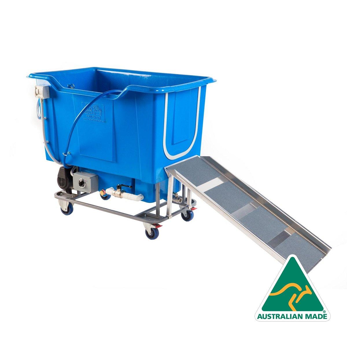 Hydrobath Ramp - Aluminium